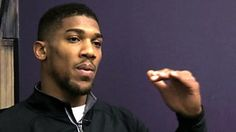 I interviewed Anthony Joshua in April 2016 just after he became IBF Heavyweight Champion.