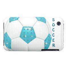 Diamond Gemstones Aqua Soccer Ball iPhone cases. http://www.zazzle.com/diamond_gemstones_aqua_soccer_ball-179997759942717378?rf=238575087705003771