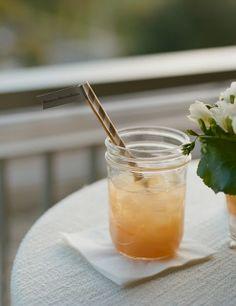 Honeymoon Shine: bourbon, grapefruit and honey syrup. Image by Kate Headley.