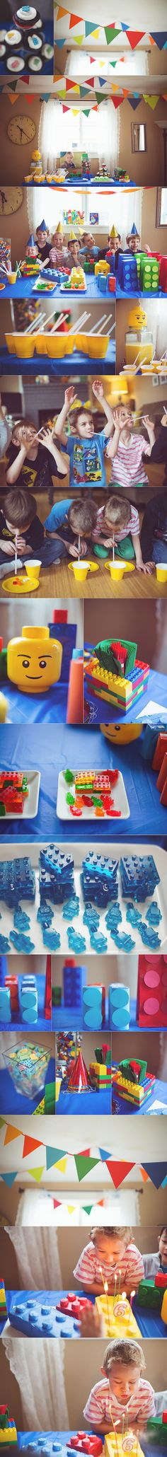 Lego Birthday | Personal | Tacoma Family Photographer » Kristal Joy Photography