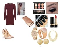 """""""on my mind"""" by rochellepires22 on Polyvore featuring A.L.C., MAC Cosmetics, Forever 21, Dolce&Gabbana, BCBGMAXAZRIA, Fred, Michael Kors, Carolina Bucci and Rupert Sanderson"""