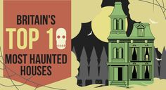 Britain's top 10 most haunted houses.