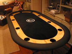 How to make a poker table - step by step
