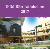 IFIM announces BBA admissions 2017