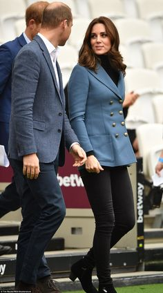 Glowing Kate has bounced back after battling hyperemesis gravidarum, a severe form of morning sickness