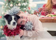 Smějící se holčička na oslavě se psem Portrait smiling girl hugging dog Dog Lovers, Portrait, Dogs, Fun, Headshot Photography, Pet Dogs, Portrait Paintings, Doggies, Drawings