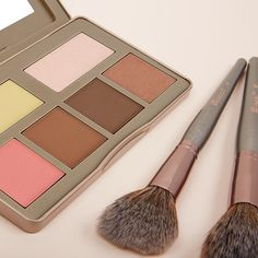 BH Cosmetics   Nude Rose Sculpt and Glow - Contour, Highlight and Blush Palette Drugstore Makeup, Lip Makeup, Makeup To Buy, Bh Cosmetics, Makeup Organization, Mascara, Sculpting, Makeup Looks, Blush