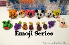 Rainbow Loom Emoji Series  ♥Subscribe YouTube Channel:  https://www.youtube.com/user/ElegantFashion360  ♥ Sing up for Newsletter: http://elegantfashion360.com