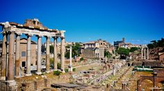 The Roman Forum: Central Piazza