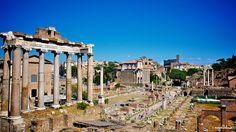 The Roman Forum: Central Piazza