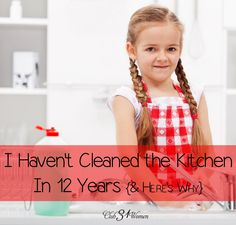 Ever wish you had more help in getting the kitchen dishes done? You might have some helpers around you...that you never considered before. A real blessing! I Haven't Cleaned the Kitchen in 12 Years {& Here's Why} ~ Club31Women