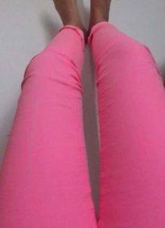 Kup mój przedmiot na #vintedpl http://www.vinted.pl/damska-odziez/rurki/14465521-rozowe-rurki-skinny-hm
