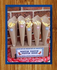 cowboy themed 5 year old bday party   COWBOY Birthday Party CAKE TOPPER Western Cowboy Theme