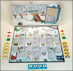 Snowstorm family pastimes cooperative game for kids #cooperation #game #children www.cooperativegames.com