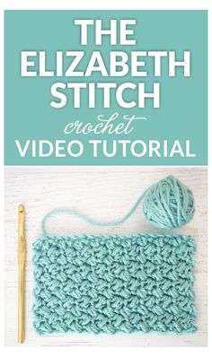 The Elizabeth stitch is absolutely beautiful in my opinion - it's an easy stitch to crochet and once you get going, you'll be able to do it in your sleep. Also known as the mini bean stitch Crochet Stitch of the Month – The Elizabeth Stitch I'm r Bag Crochet, Crochet Motifs, Crochet Dishcloths, Crochet Stitches Patterns, Crochet Designs, Crochet Crafts, Crochet Projects, Crochet Blankets, Easy Crochet Blanket