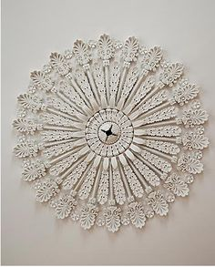 Restored Ceiling Rose - William C Gatewood House Charleston.