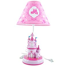 Good Princess Castle Night Lamp With Shade By King Max Products $46.95