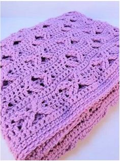 If you& hunting for some simple and beautiful crochet baby blanket patterns, look no further. The Orchid Crochet Baby Blanket Pattern is both cute and cuddly. Baby Afghan Patterns, Baby Afghan Crochet, Baby Afghans, Crochet Blanket Patterns, Easy Crochet, Free Crochet, Baby Blankets, Crochet Blankets, Crochet Ideas