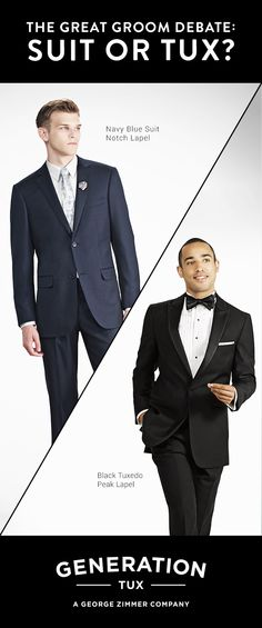 Generation Tux has reinvented the black tie experience. We took the time to create the sharpest, best fitting tux and suit rental collection available. Wedding Wear, Wedding Groom, Wedding Attire, Our Wedding, Dream Wedding, Wedding Dresses, Wedding Wishes, Wedding Bells, Wedding Designs