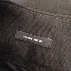 Classic black dress pants by talbots Classic black dress pants by talbots- size 4p- side zip Talbots Pants Trousers