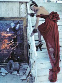 Daphne Guinness in 'The Honourable Daphne Guinness' by Steven Klein  for Vogue Italia