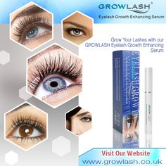 #Grow Your Lashes with our #GROWLASH #Eyelash #Growth #Enhancing Serum.