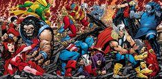 John Byrne - Avengers vs Darkseid