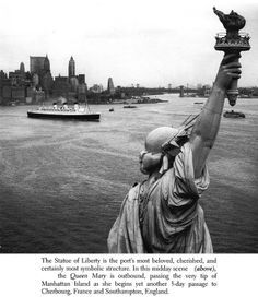 Great Ships in New York Harbor: 175 Historic Photographs, New York Harbor, Dover Publications, Classic Literature, Queen Mary, Social Studies, Spotlight, Liberty, Boats, Cruise