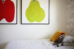 fruit art sock monke