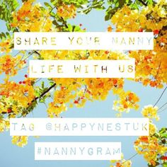 Want to join the Happy Nest community? We want to see your nanny life pictures! -- // Tag @happynestuk in your snaps and use the #nannygram or #nannylife hashtags and we'll regram you.  #happynannies
