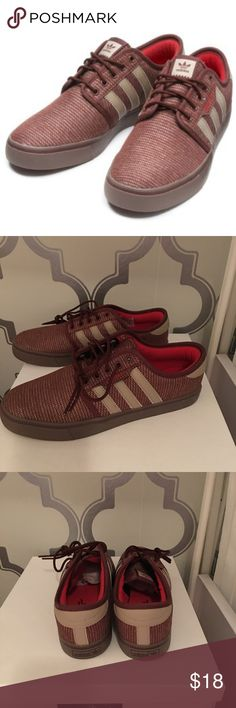 b5a12bbabd6 New Rust colored adidas Seeley Skate shoes New without tags