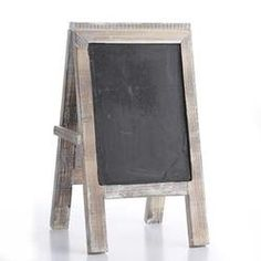 Chalkboard Easel Sign with Distressed Wood Frame for Wedding Receptions Rustic Accents,http://www.amazon.com/dp/B00FINM0KM/ref=cm_sw_r_pi_dp_NPDmtb0M65V660NH