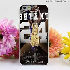 283QA Cubierta Kobe Bryant Negro Mamba Para Hard Clear Transparent Cover for iPhone 4 4S 5 5S SE 5c 6 6s Plus Phone Cases