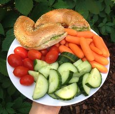 healthy lunch - I think I'd explode after that much food...
