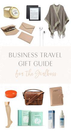 business travel gift guide for the girl boss