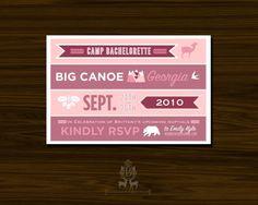 cute bachelorette party invitations
