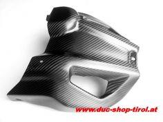 Duc Shop Tirol - Carbon Motor-Spoiler Ducati Hypermotard und Hyperstrada ab Bj. 2013