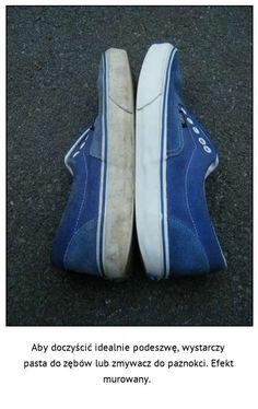 Nie uwierzysz czym wyczyścisz białe podeszwy butów - Zaskoczeni?