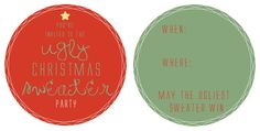 the letter 4: Christmas Printables