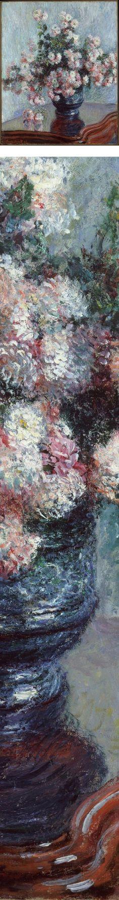 Chrysanthemums, Claude Monet