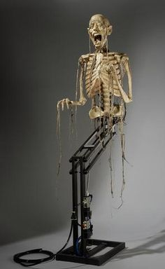 """Corpse Leaper"" Skeleton Halloween Animatronic (includes High Volume S Halloween Graveyard, Pirate Halloween, Scary Halloween Decorations, Spooky Scary, Halloween Haunted Houses, Outdoor Halloween, Creepy Halloween, Halloween Skull, Halloween Masks"