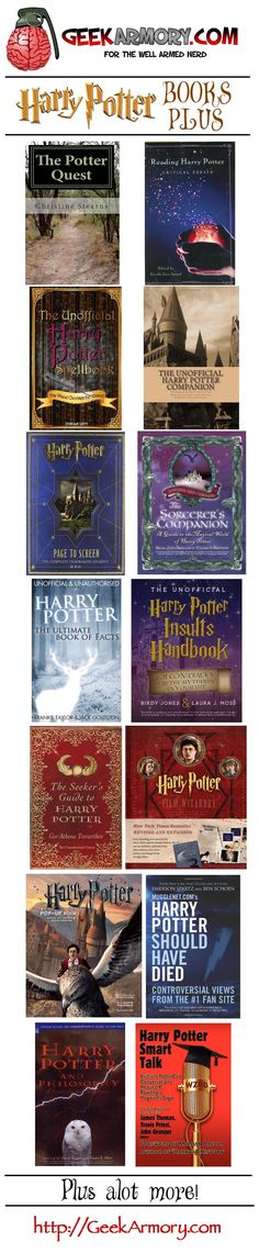 "Harry Potter ""More Reads"" >>>> I have the sixth one down, ""The Sorcerer's Companion"" :) Harry Potter More, Mundo Harry Potter, Harry Potter Books, Up Book, Book Nerd, Colin Firth, Hogwarts, Slytherin, Ron Y Hermione"