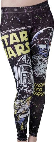 Star Wars Leggings, you know for under your dress