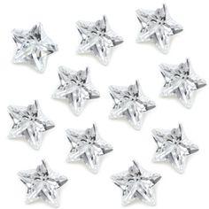Clear Zirconia Crystal Star Floating Charm Living Memory Locket Pendant Necklac #FloatingCharm