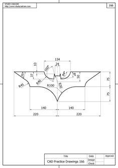 The dark knight trilogy logo autocad exam level i autocad level Mechanical Engineering Design, Mechanical Design, Logo Design, Graphic Design, Inkscape Tutorials, Interesting Drawings, Isometric Drawing, The Dark Knight Trilogy, Cad Drawing