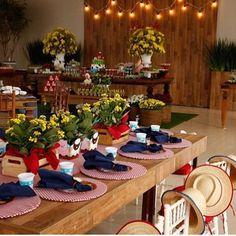 Festa Fazendinha. Pic via @noelymarquez #encontrandoideias #blogencontrandoideias #fabiolateles