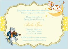Digital Nursery Rhyme Baby Shower By Spencervillejunction On Etsy, $3.00 |  Party Ideas | Pinterest | Shower Favors