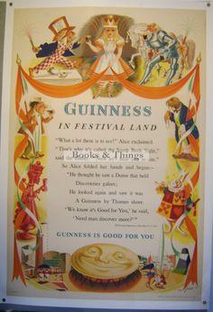 alice in wonderland guinness - Google Search