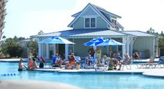We love SeaSide! Bright, coastal cottages & a vast resort-style pool. Anchored by the SeaSide Club, a gorgeous resort-style pool with splash and sunning areas, SeaSide is a colorful collection of spacious, low-maintenance coastal cottages (1,200 to over 2,000 SF) that deliver major style, inside and out. You'll enjoy cook's kitchens and special architectural details. And it's all just steps from the pool and club your friends and family will be talking about long after their visit!