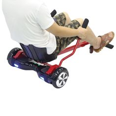 """Amazon.com: Cool Mini Kart Style Accessories Kart Car Syle Holder for 6.5"""" 10""""Two Wheel Self Balancing Scooter Hover Boards, Not Noly STAND,Can be LIKE A GO-KART: Sports & Outdoors"""